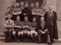 Back row, 4th from the right -- Raymond Bassett [possibly]