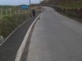 Porthdafarch Road Footpath, March 2012.