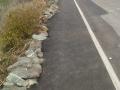 New Footpath - Porthdafarch Road, March 2012.